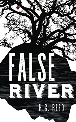 book cover false river by h. g. reed